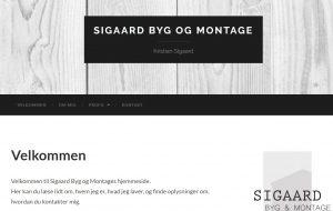 Sigaard Byg og Montage, Ryde